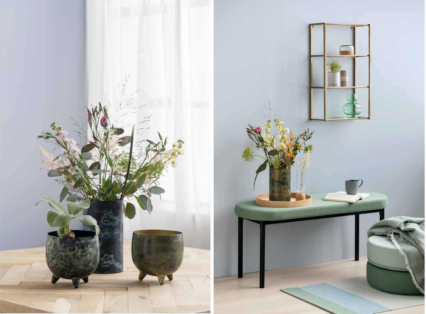 s strene grene une collection printani re et idyllique behind the do r. Black Bedroom Furniture Sets. Home Design Ideas
