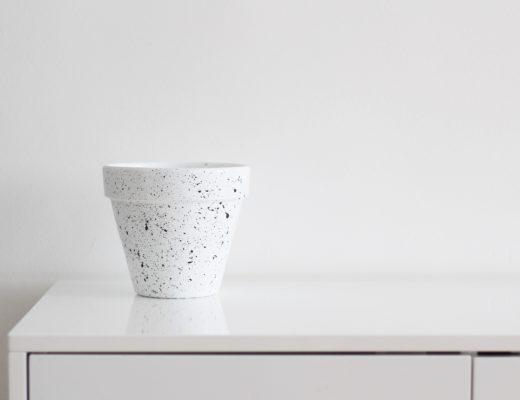 DIY pot de plante