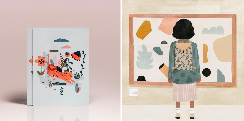 Illustratrices Laura Lhuillier